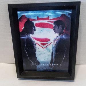 Batman v Superman Holograph 3D Movie Poster